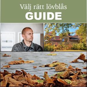 Köpa lövblås guide